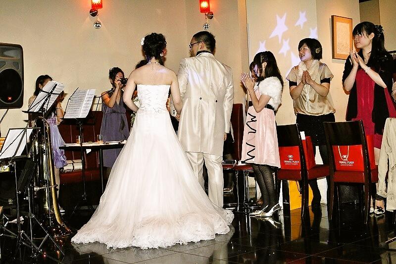 ブラスバンド結婚式