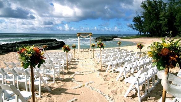 ハワイ挙式で新婚旅行も兼ねる