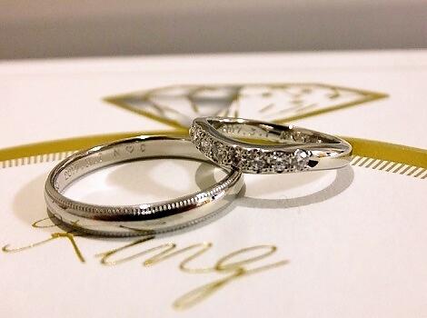 結婚指輪ミキモト