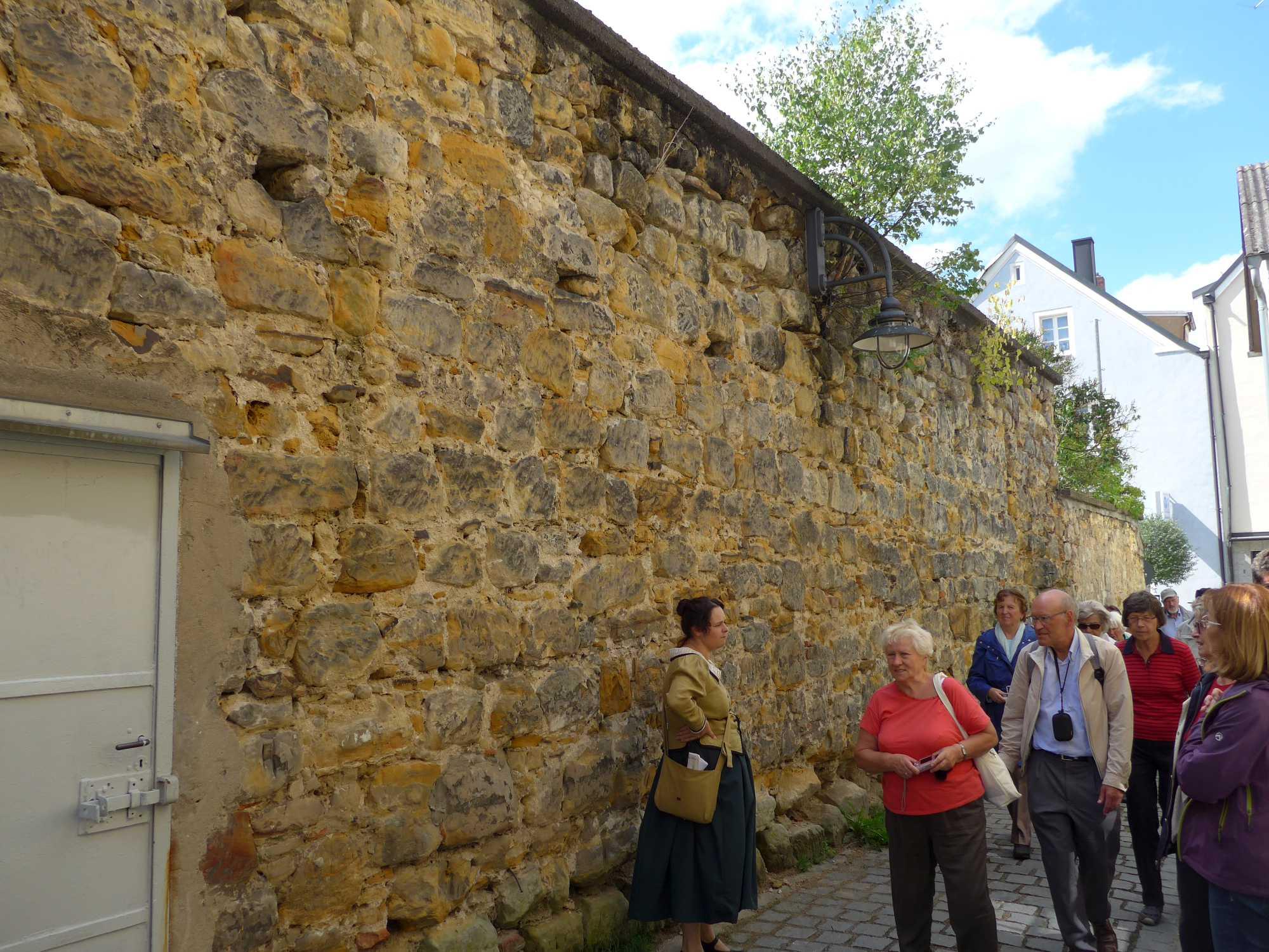 Rest der Stadtmauer