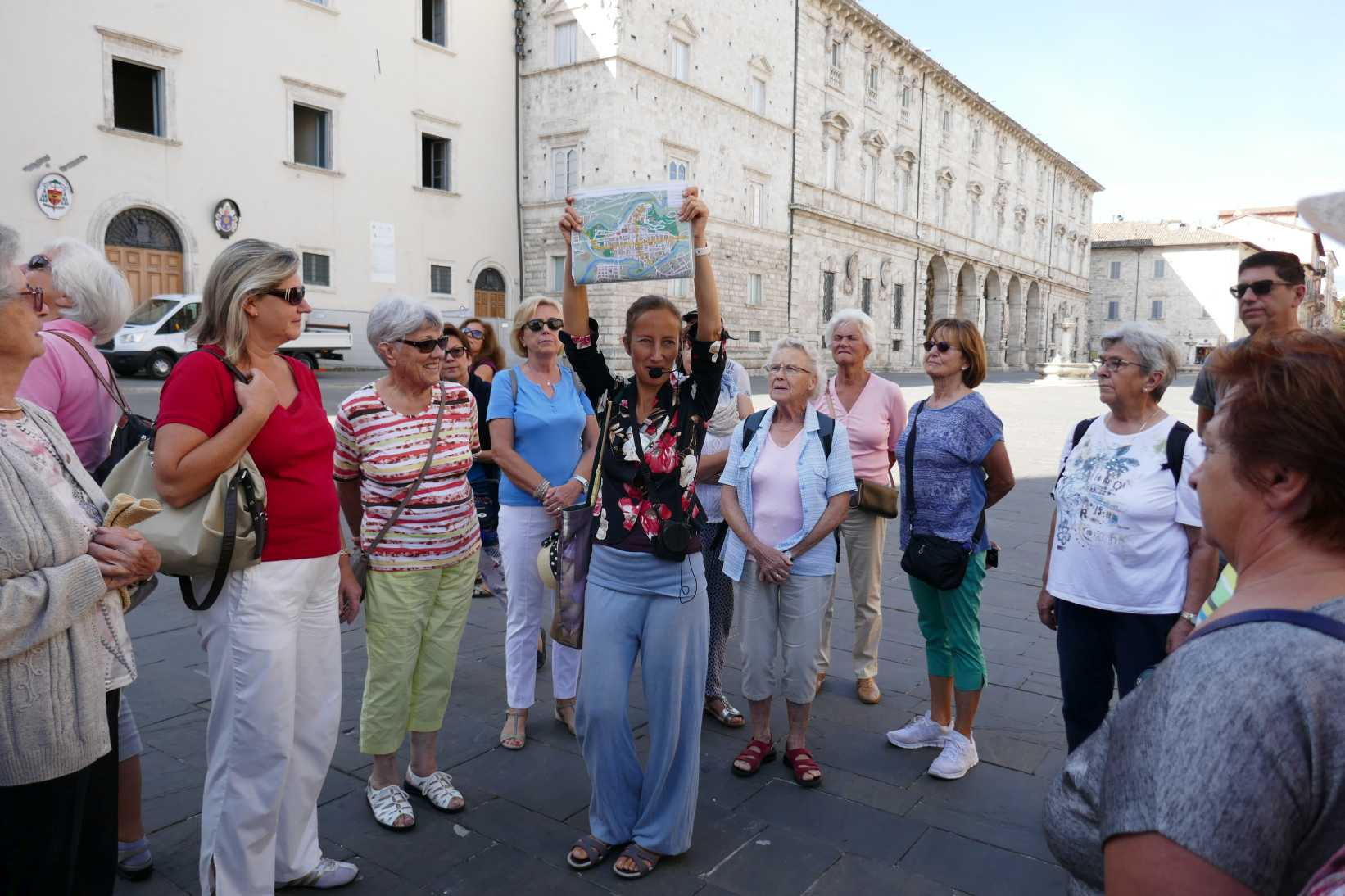 Ascoli Picena-Führung mit Martina