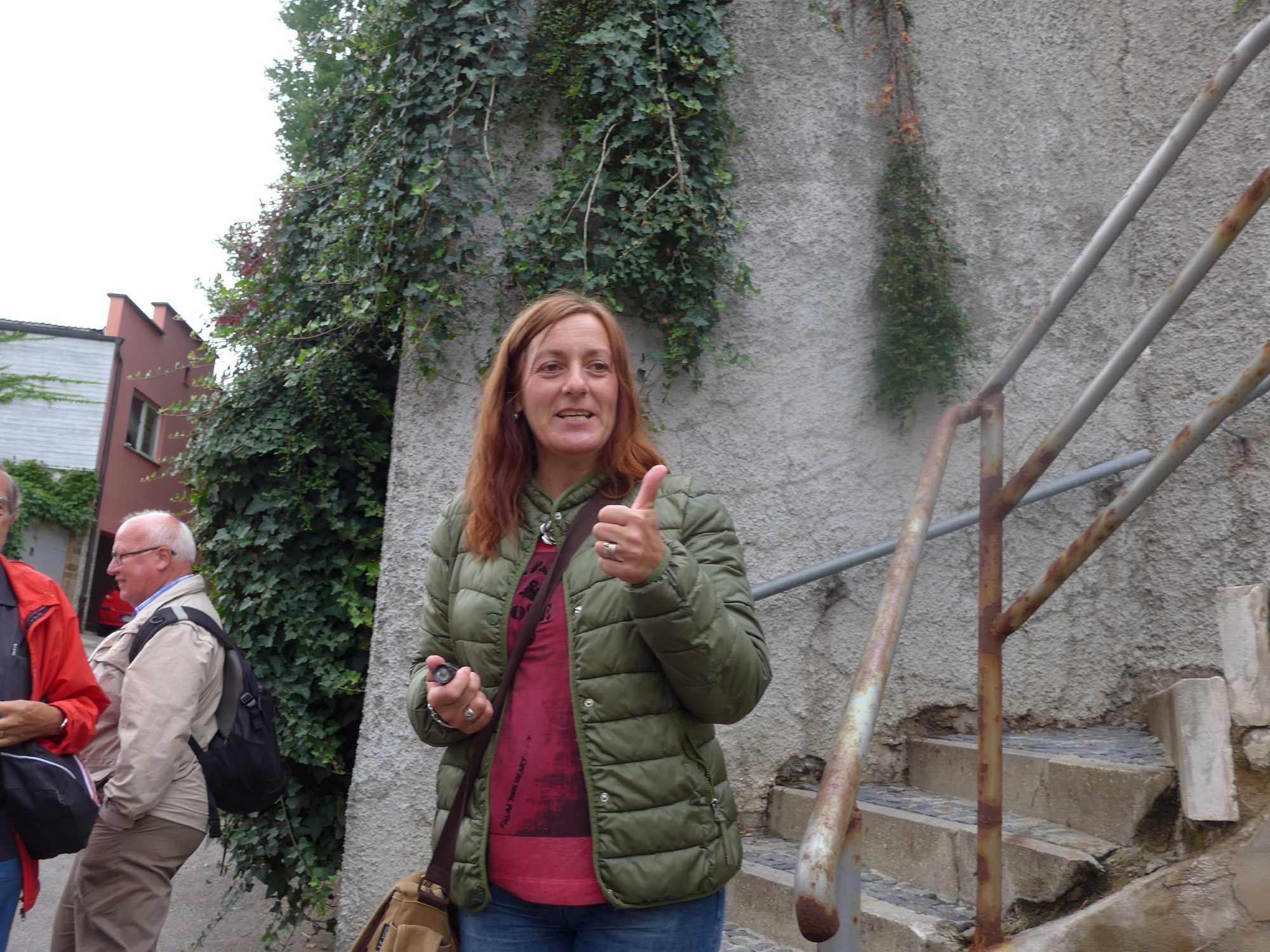 Karin Roßmann, endlich wieder Tageslicht