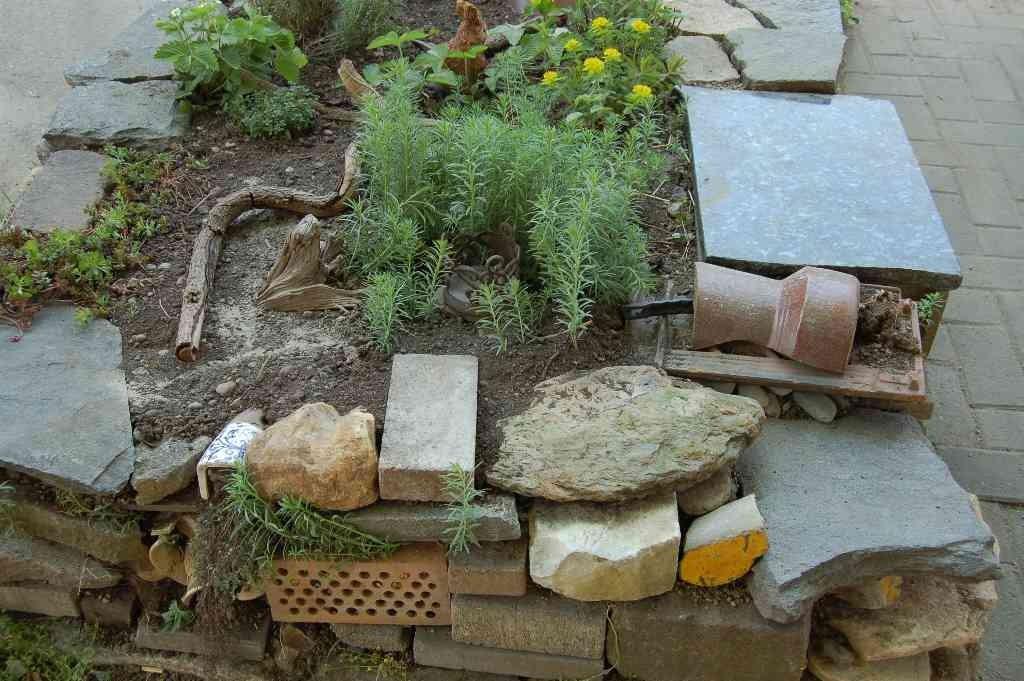 Recycle Hoogbeet für Kräutern, Windisch