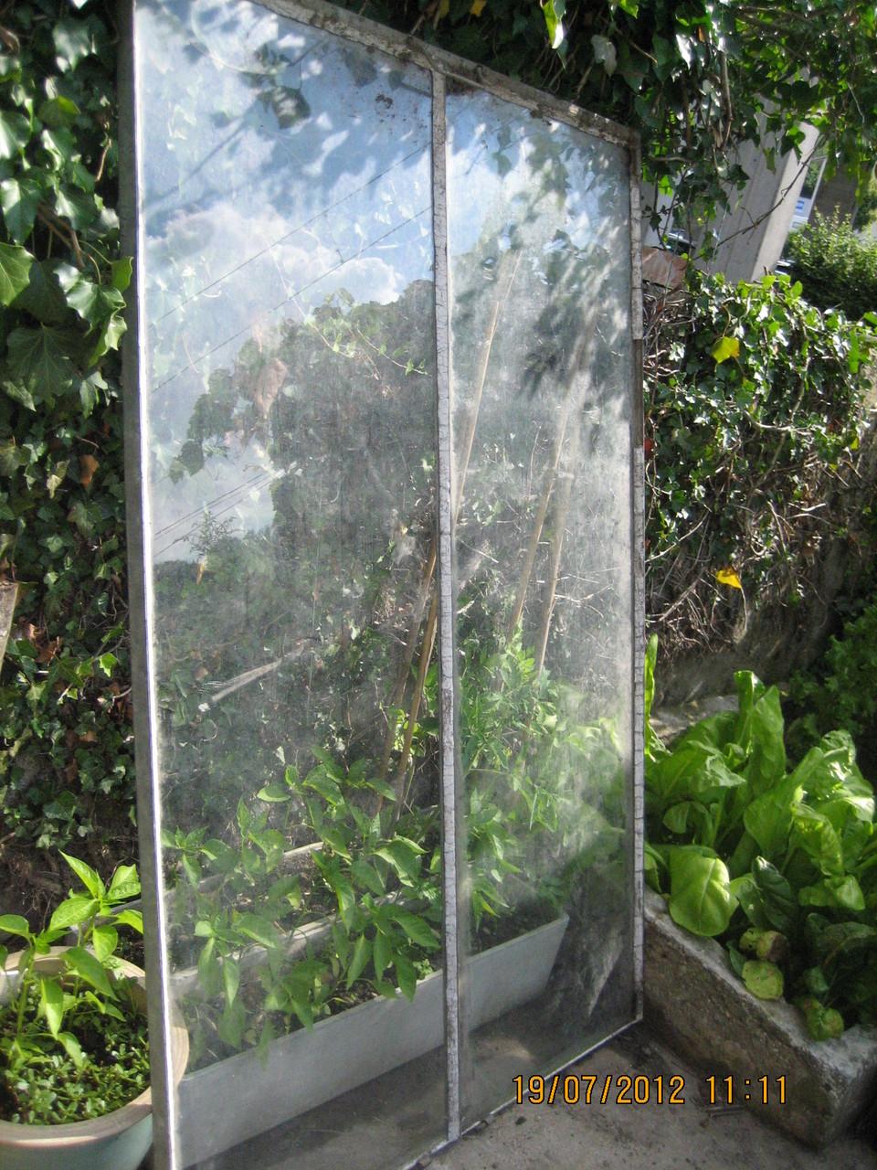 Ein Treibbeetfenster