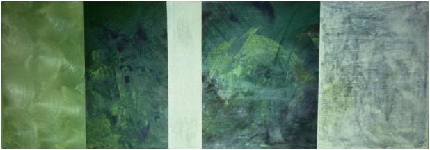 Nr. 2003-HO-004: 140 x 50 cm, Acryl auf MDF, Erstling
