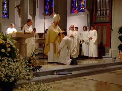 Priesterweihe im Dom in Feldkirch.