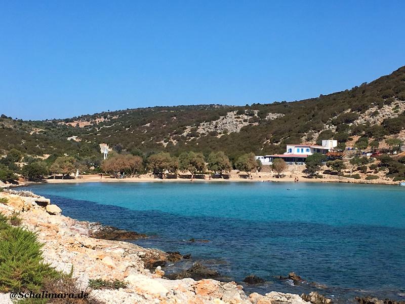 zum Platis Gialos Strand