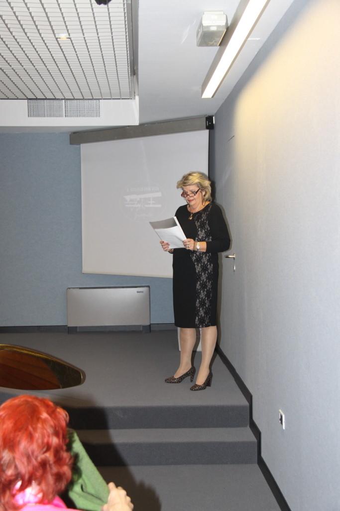 La signora Christine Moncherio, unica erede della famiglia Moncher arrivata direttamente da Vienna