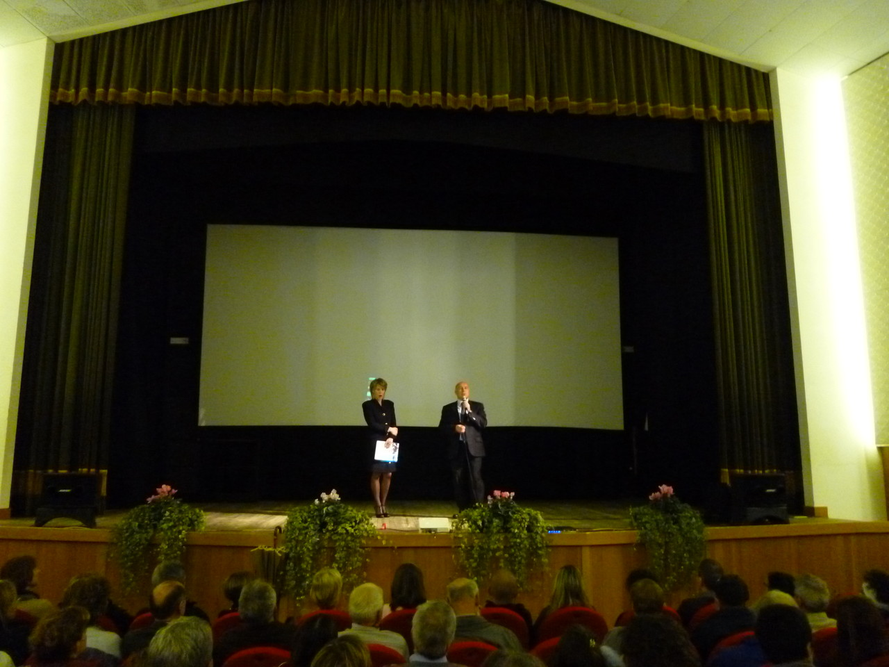 L'Assessore alla Cultura della Provincia Autonoma di Trento, Franco Panizza