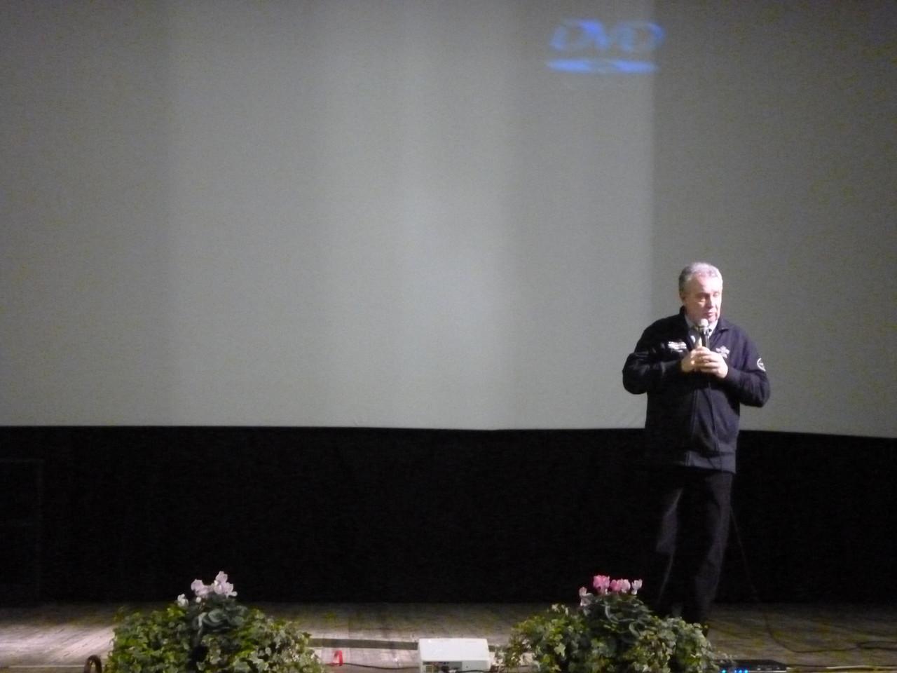 Il regista Mauro Vittorio Quattrina