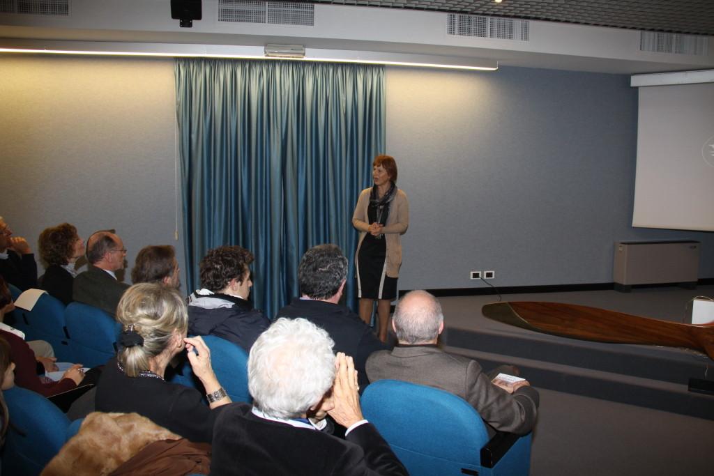 Laura Cretti Assessore alla Cultura della Comunità di Valle