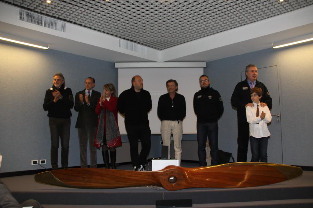 Miche Vigilante, Mauro Bert, Ivana Rizzardi, Fabio Sidotti, Roberto Vandelli e Pietro