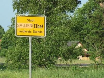 Stadt Sandau wurde Gallien