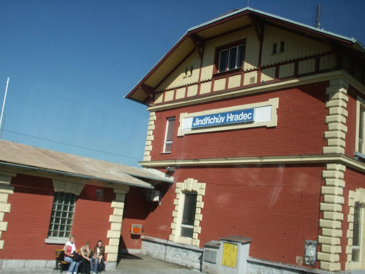 Bahnhof Jindrichuv Hradec