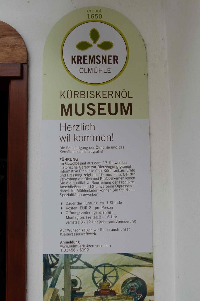 Ölmühle Kremsner Mantrach