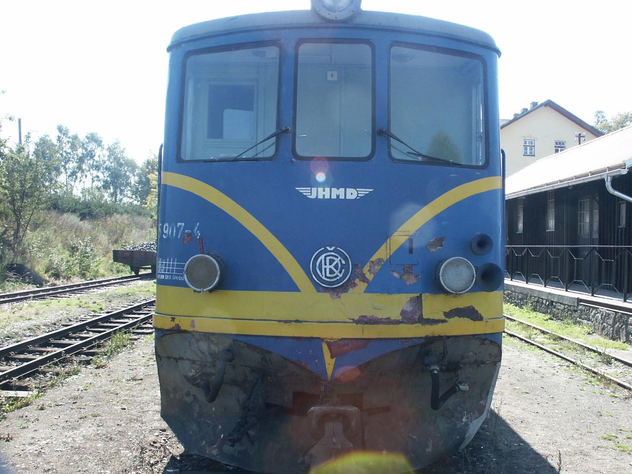 Bahn der JHMD