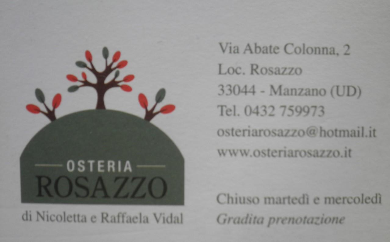 Osteria Rosazzo