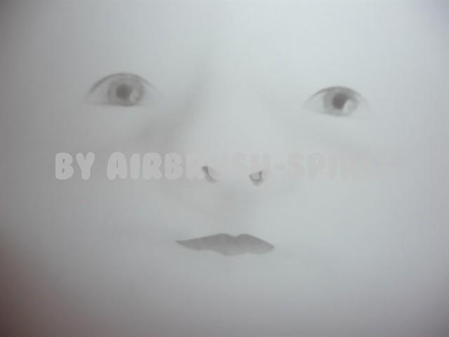 Gesicht - 06/2012 - auf Papier