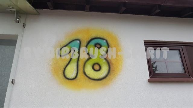 Hausnummer - 04/2015 - Fassade