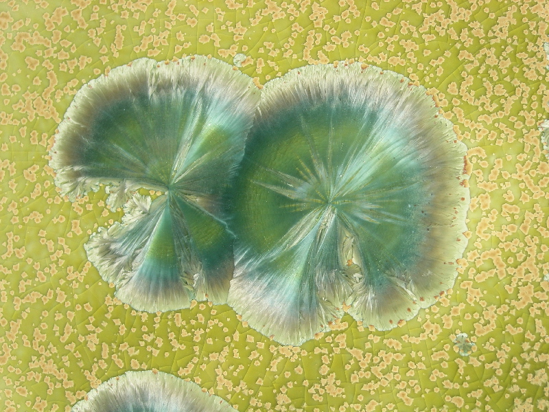 Cristal vert amande