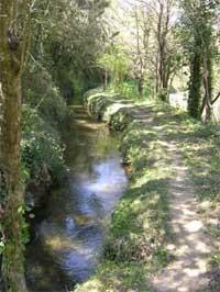 Le canal de Sainte Croix Le Thoronet Var