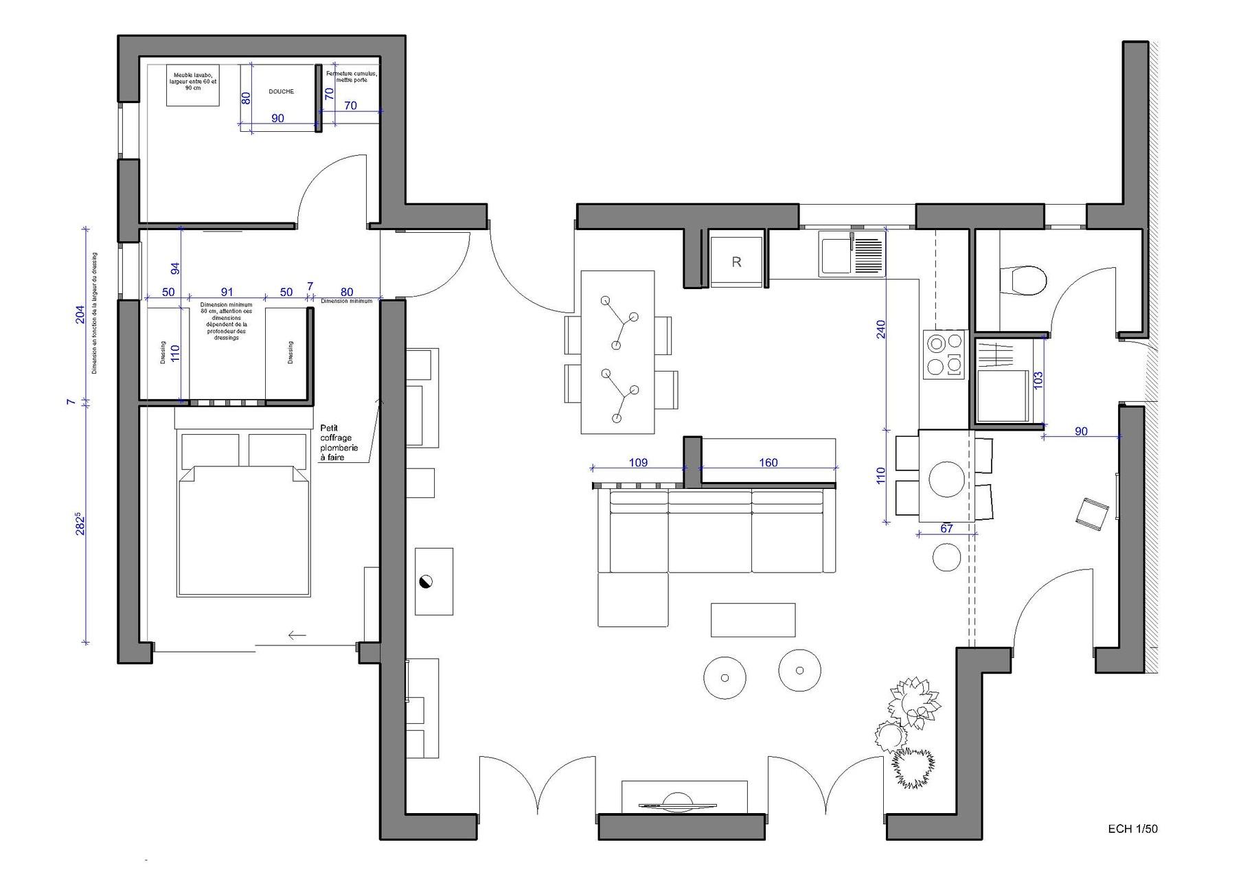 #4A4982 Architecture D'intérieur Var 3069 plan suite parentale 35m2 1810x1280 px @ aertt.com