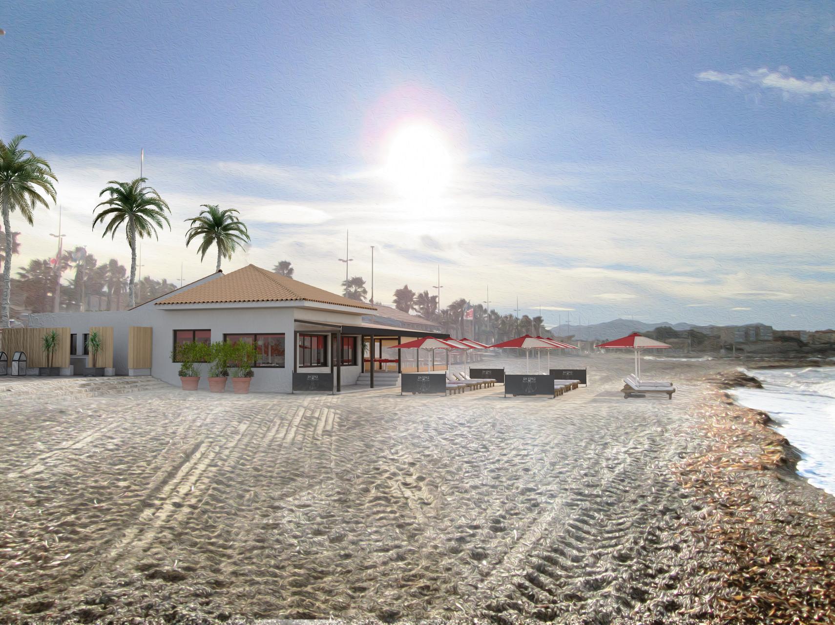 Bar restaurant en bord de mer six fours les plages - Restaurant hyeres bord de mer ...