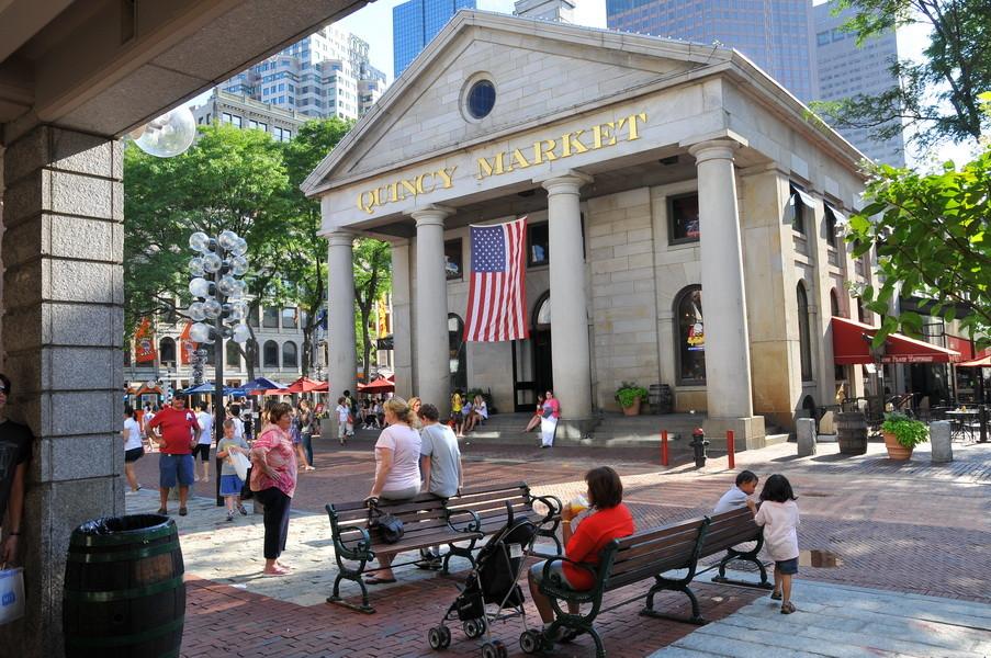 Quincy Markt, ein muss wenn man in Boston ist!!