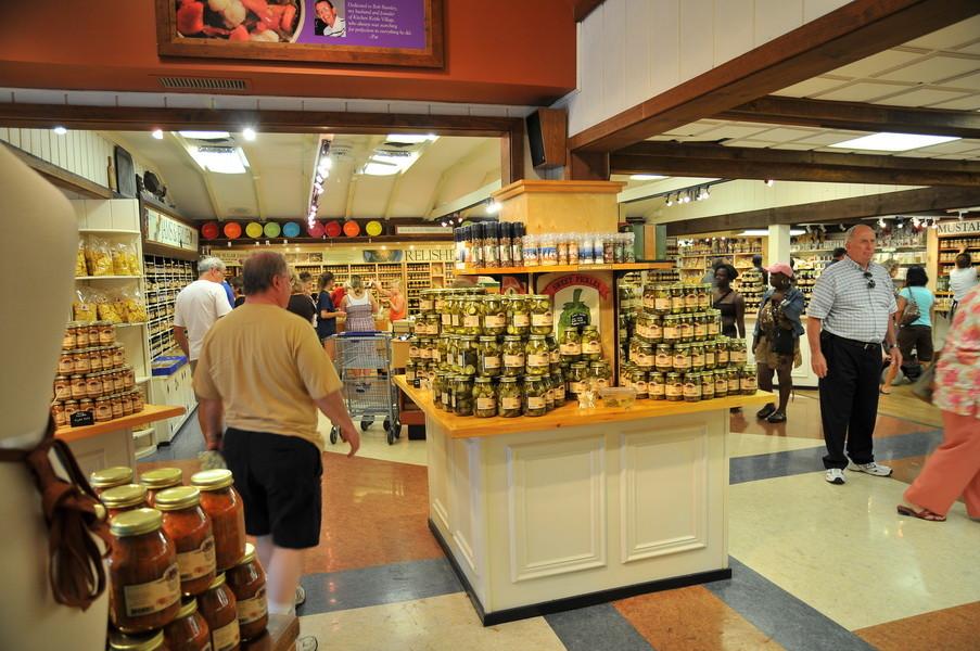 Lokale Köstlichkeiten, Marmelade und eingelegtes Gemüse