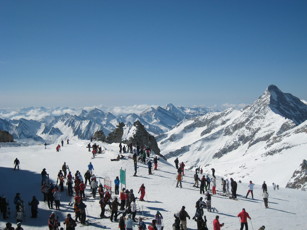 Blick Richtung Brenner / Südtirol