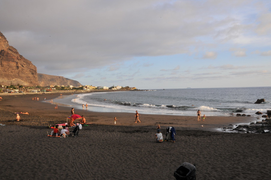 Der Strand von Playa Calera