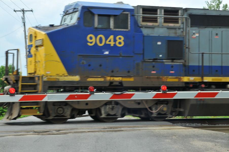 % Lokomotiven dieser Art ziehen den Zug