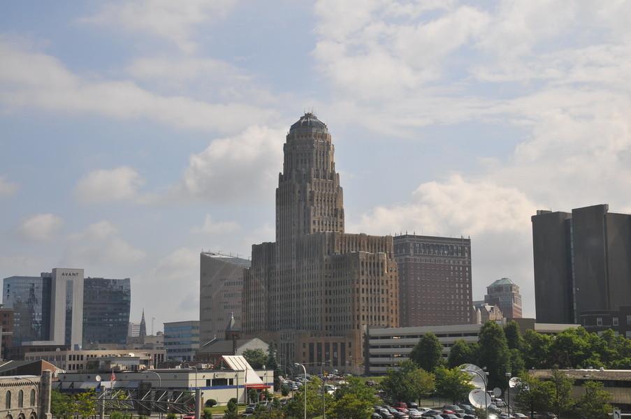 Das größte Rathaus der USA in Buffalo