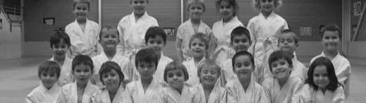 Groupe de jeunes judokas
