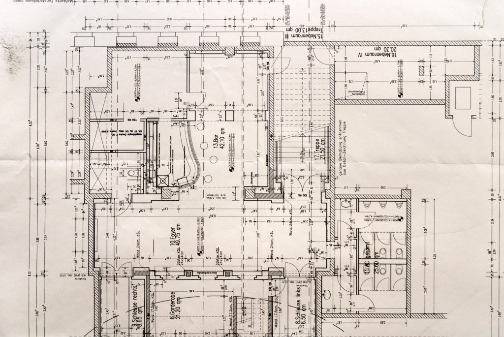 Plan Bar und Foyer