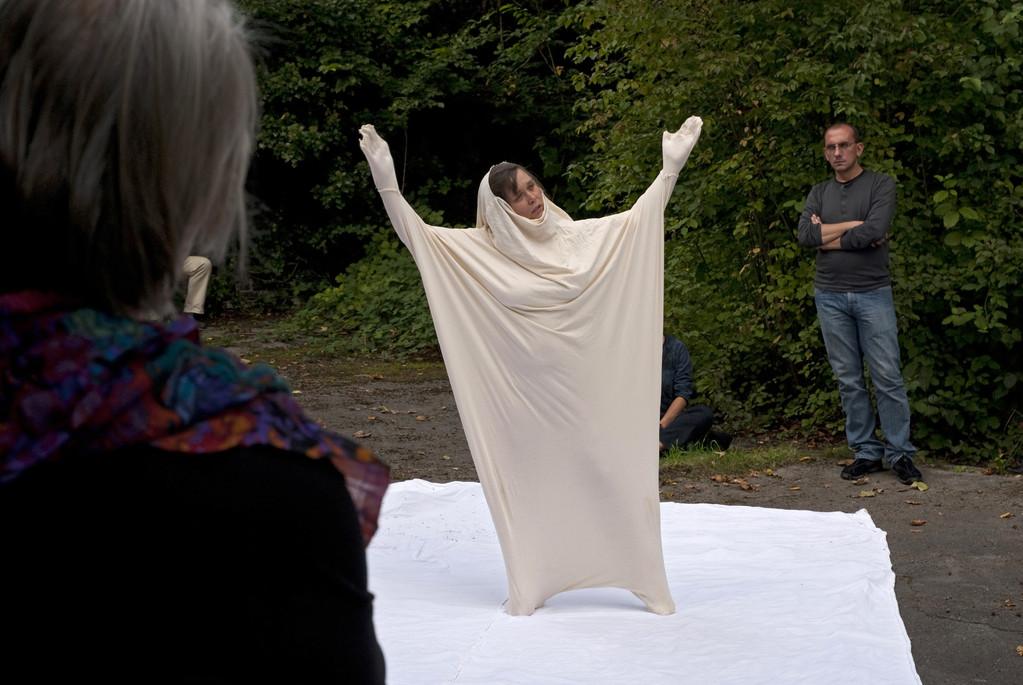 Performance Edelgard Stryzewski-Dullien und Tina Lahl