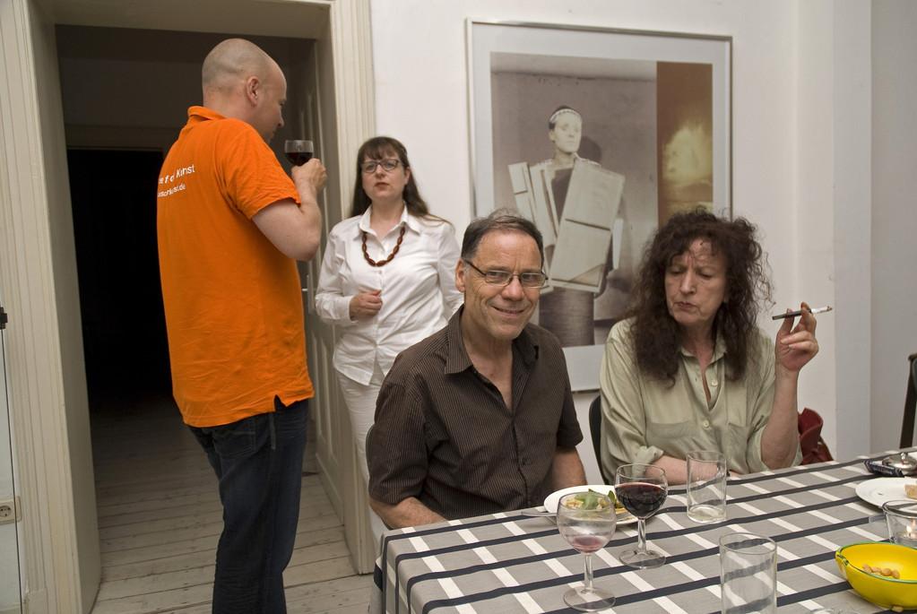 Doris Schöttler-Boll mit Rainer Komers