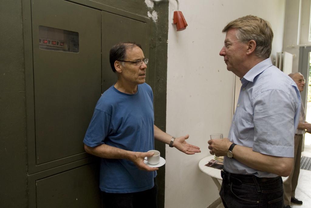 Der Dokumentarfilmer Rainer Komers im Gespräch mit Franz-Josef Britz