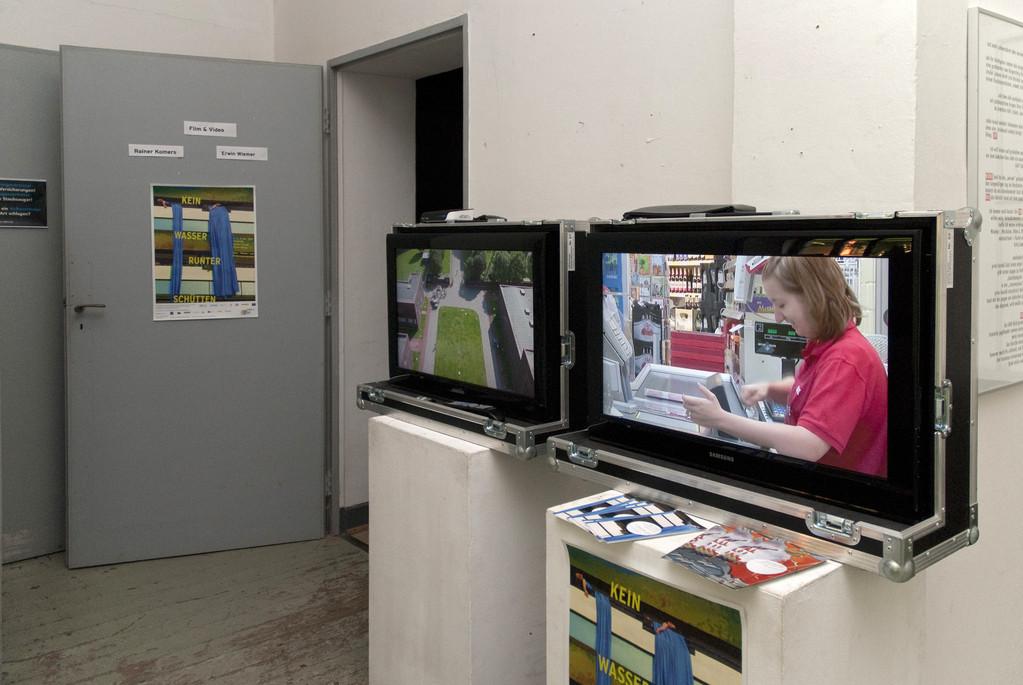 """Zeitraffervideos und """"Kein Wasser runterschütten""""-Videos von Erwin Wiemer"""