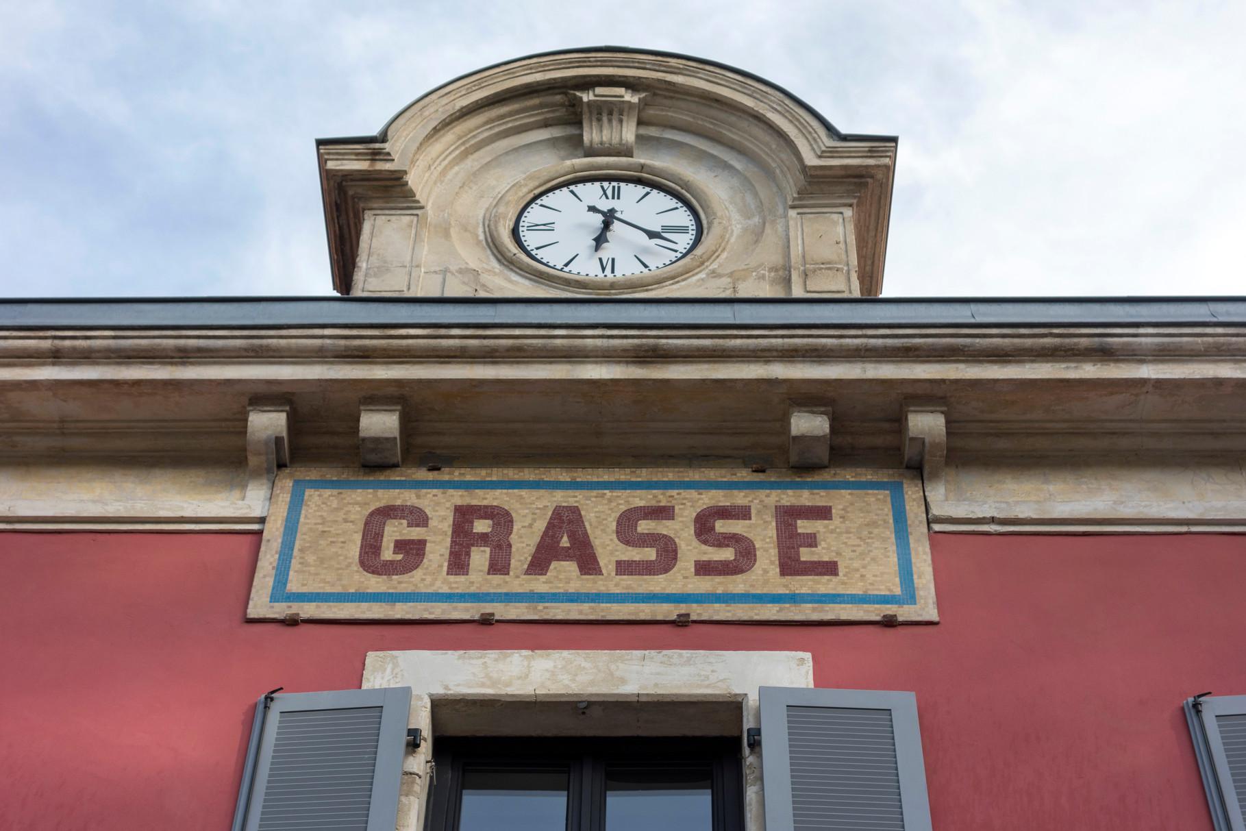 Bahnhof von Grasse
