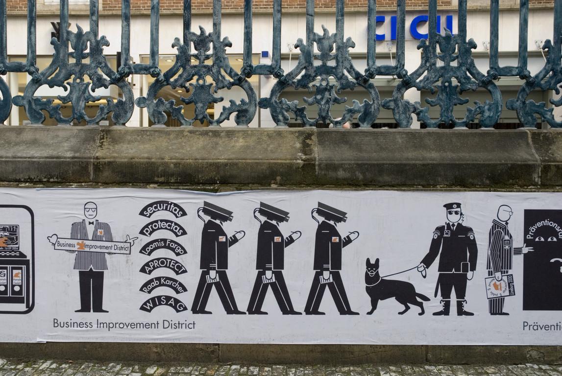 Andreas Siekmann - Trickle Down. Der öffentliche Raum im Zeitalter seiner Privatisierung