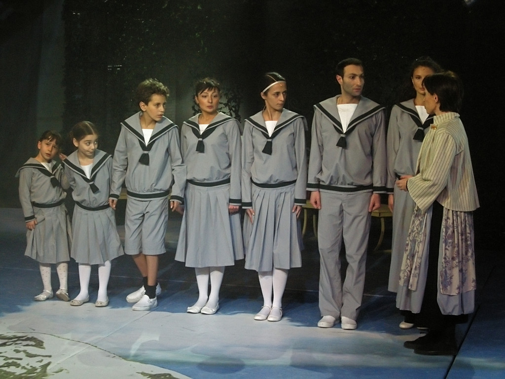 "Probe des Stücks ""The Sound of Music"""