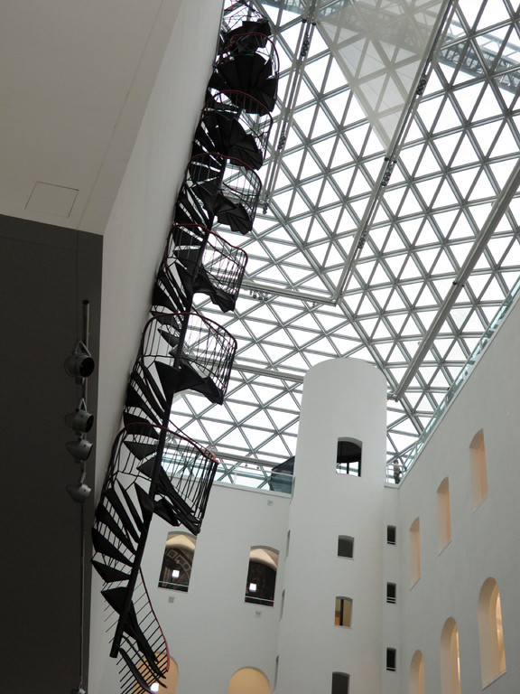 """Die Treppe"", Monika Sosnowska (2010)"