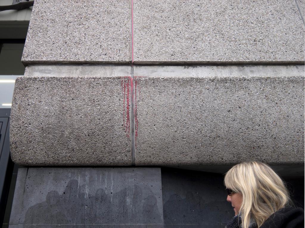 Kunst an der Museumsfassade