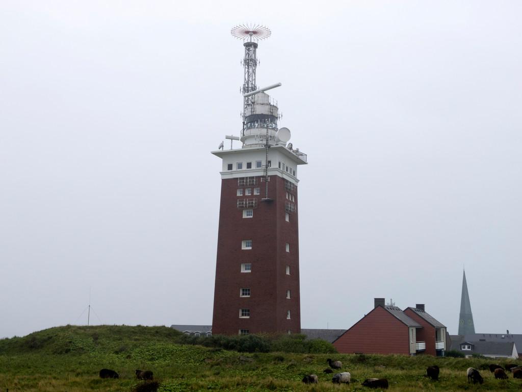 Der Leuchtturm von Helgoland