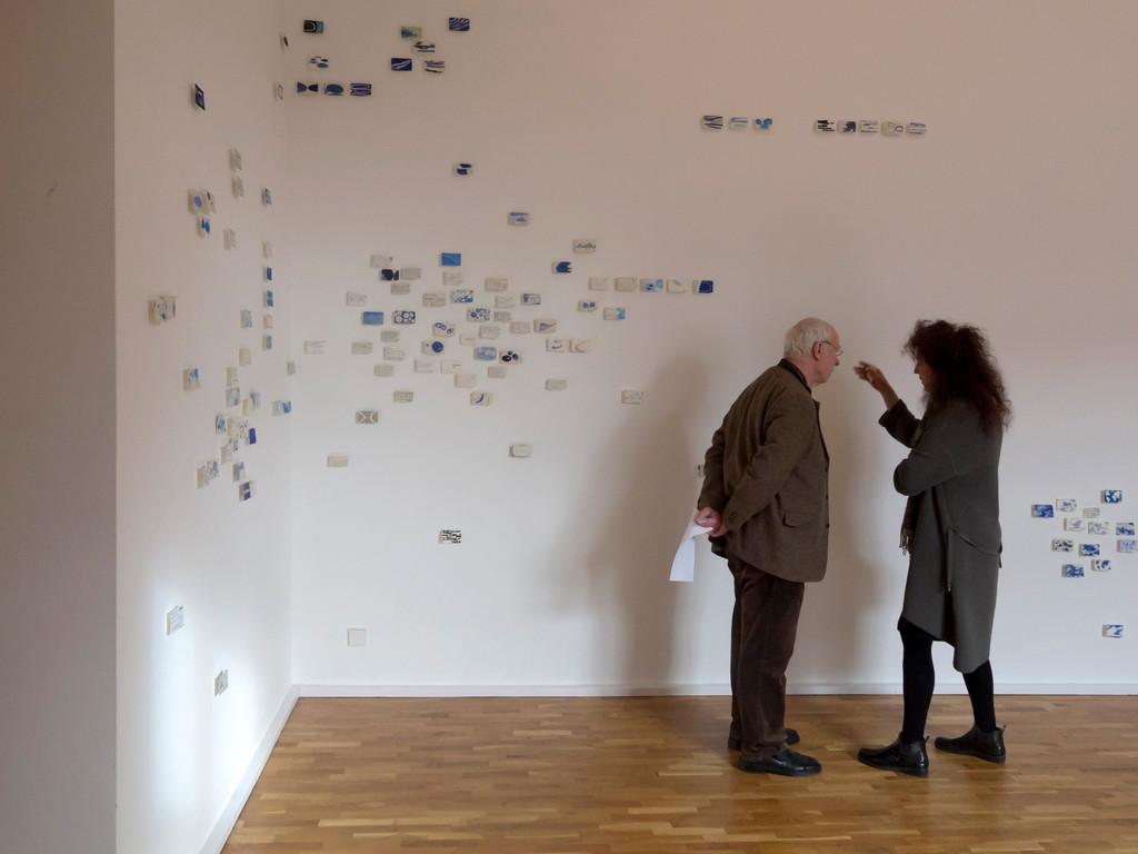 Nanne Meyer, Wolken, Blick in den Ausstellungsraum