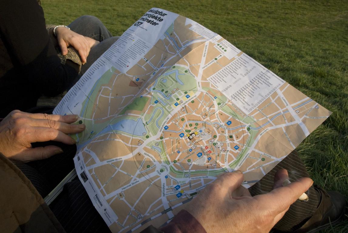 Ein Lageplan für den Überblick