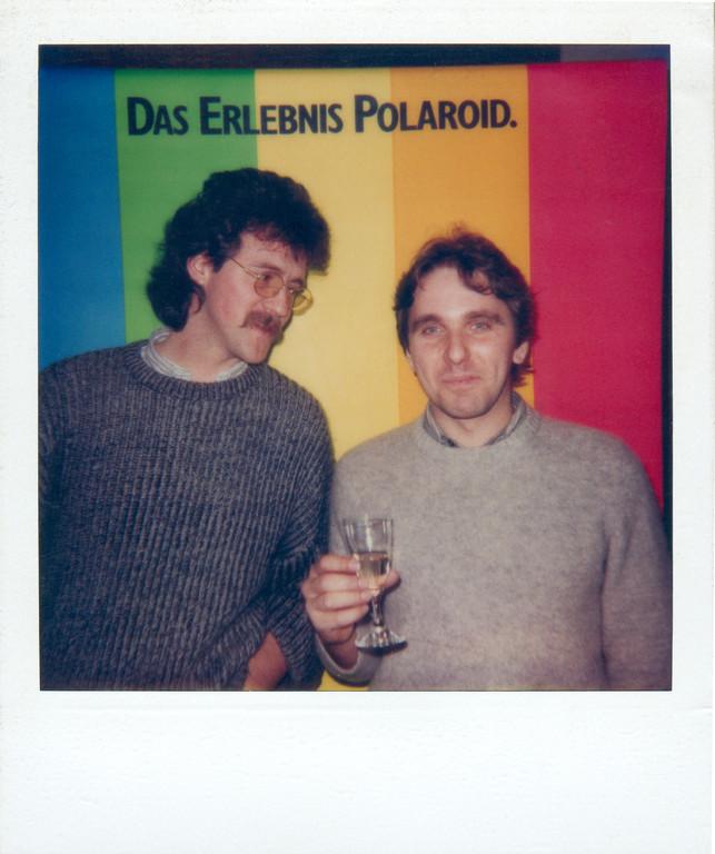 Hans und ich, Photokina 1985