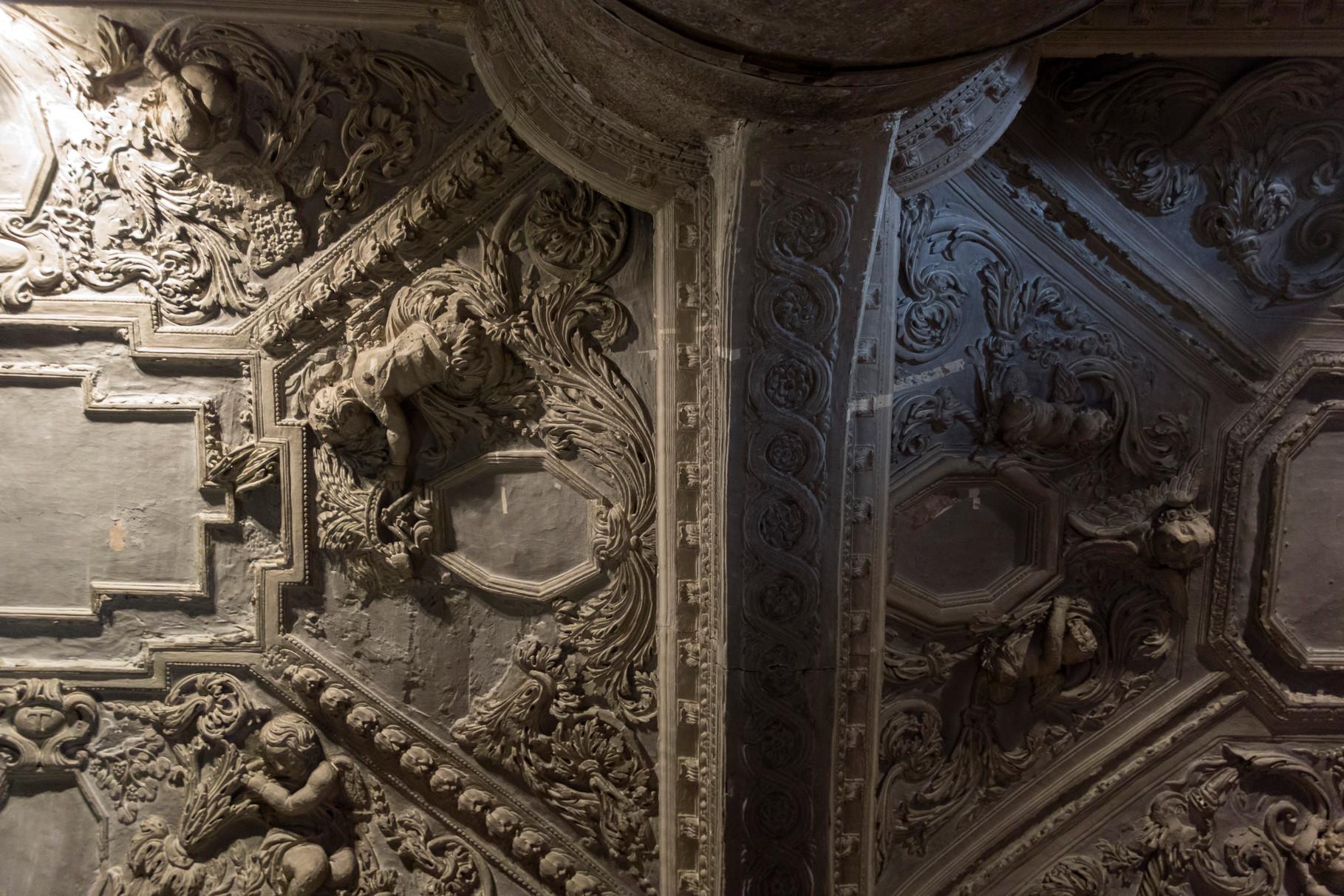 Decken im Seitschiff der Kathedrale
