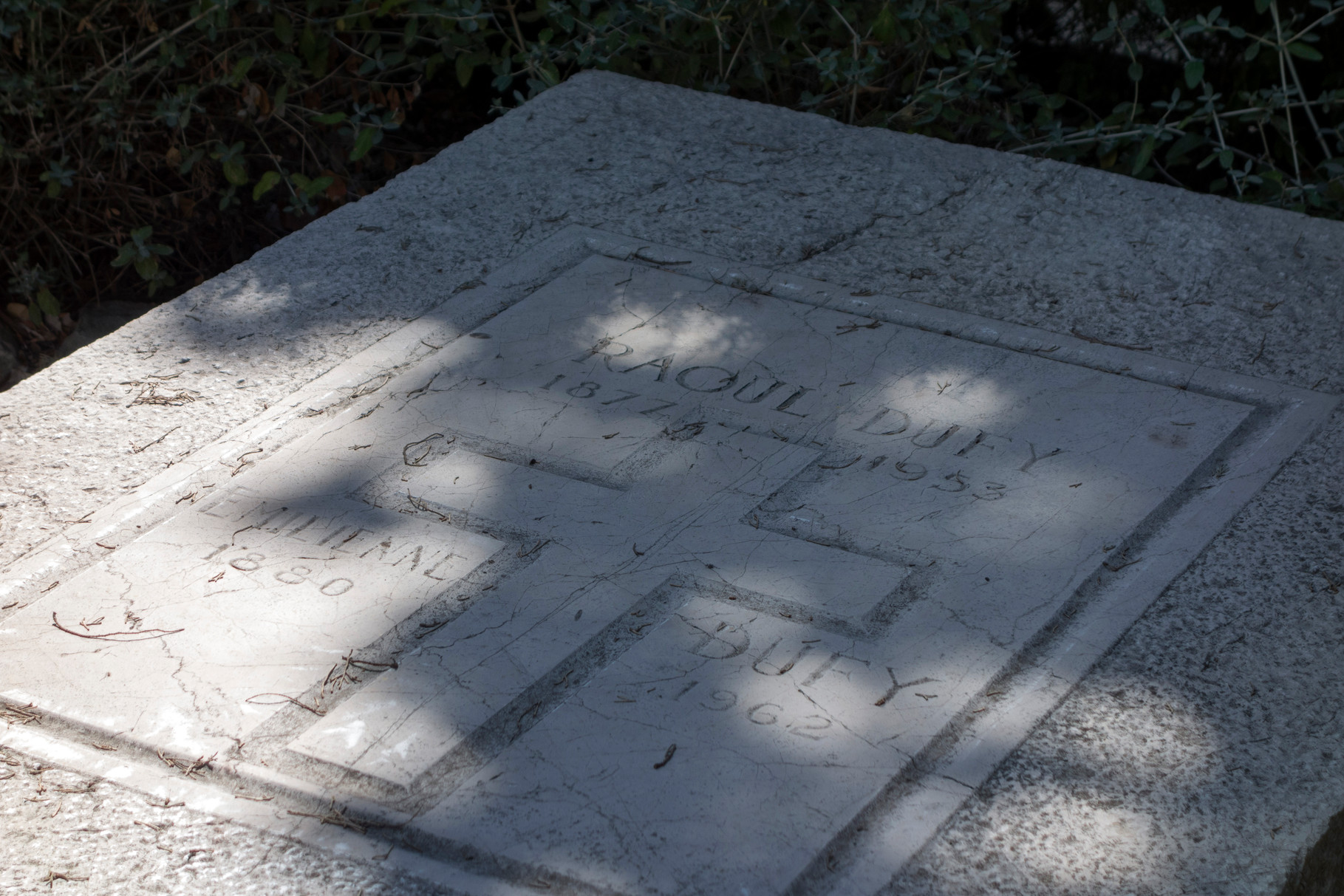 Grab von Raoul Dufy
